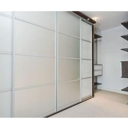 sliding doors silver