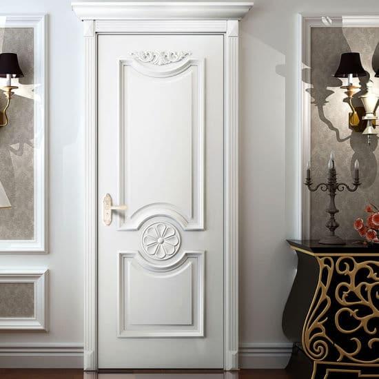 white classic interior doors
