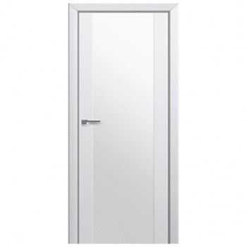 110U Alaska White Triplex Glass Interior Door
