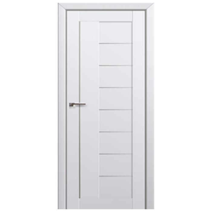 17U Alaska Graphite Frosted Glass Doors