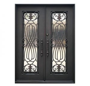 wrought iron doors-